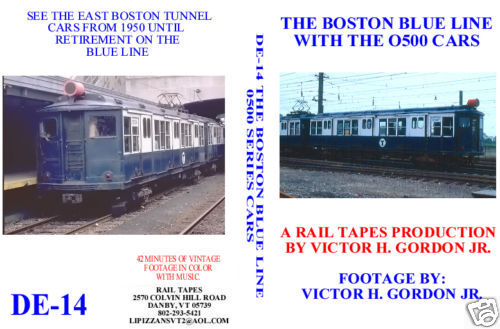 BOSTON BLUE LINE WITH THE 0500 CARS