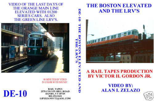 BOSTON ELEVATED AND THE LRV'S