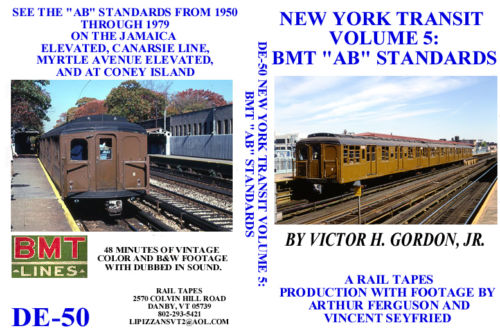 NEW YORK TRANSIT VOL 5 BMT AB STANDARDS