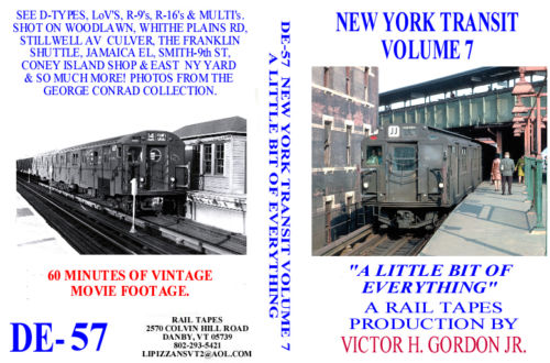 NEW YORK TRANSIT VOL 7 A LITTLE BIT OF EVERYTHING