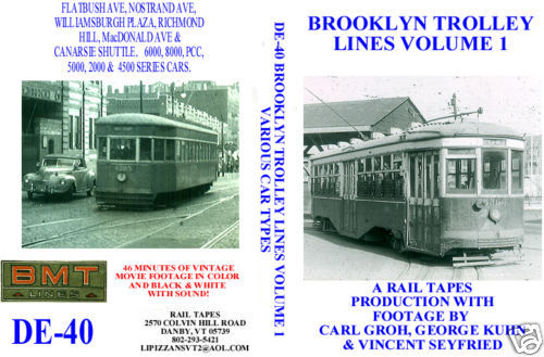 BROOKLYN TROLLEY LINES VOL 1