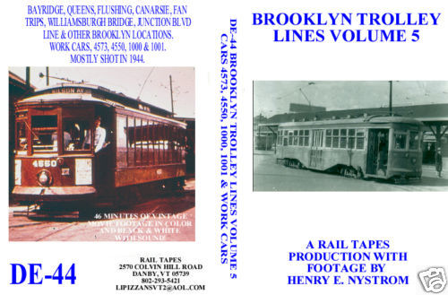BROOKLYN TROLLEY LINES VOL 5