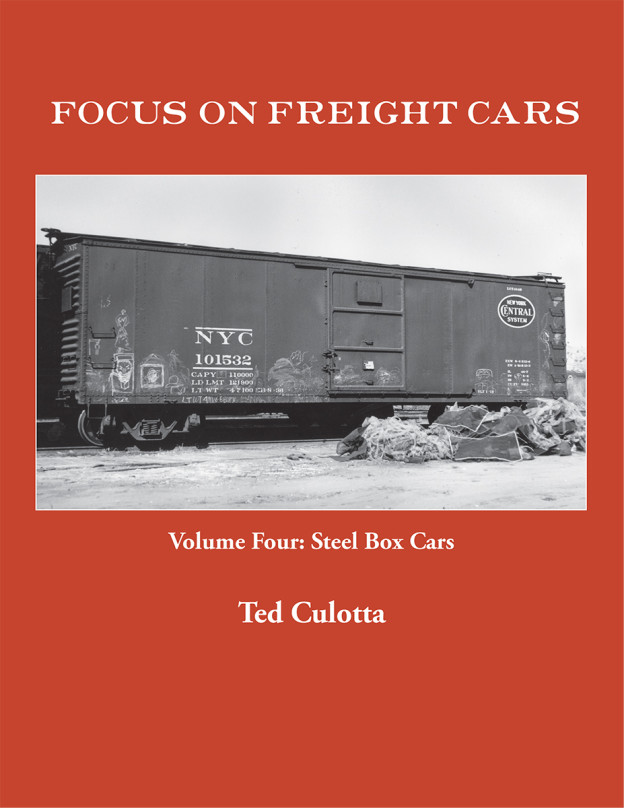 FOCUS ON FREIGHT CARS VOL 4 STEEL BOX CARS