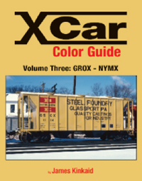 X CAR (PRIVATE OWNER) COLOR GUIDE VOL 3 GROX-NYMX