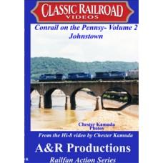 CONRAIL ON THE PENNSY VOL 2 JOHNSTOWN