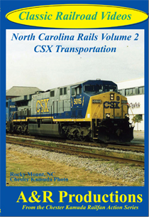 NORTH CAROLINA RAILS VOL 2 CSX TRANSPORTATION