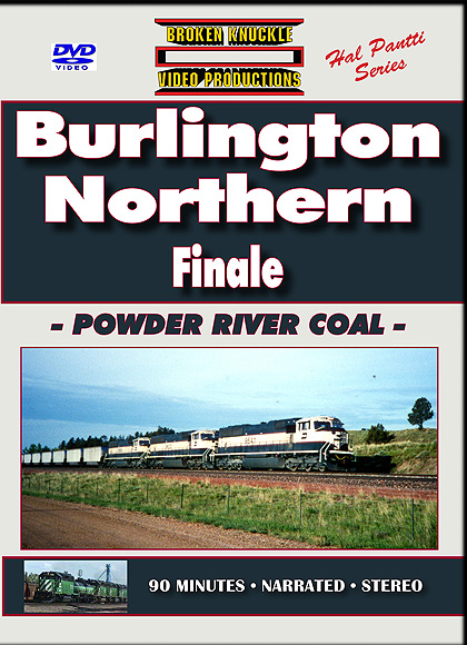 BURLINGTON NORTHERN FINALE - POWDER RIVER COAL