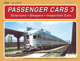 PASSENGER CARS #3 SOLARIUMS, SLEEPERS, INSPECTION CARS