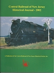 CENTRAL RAILROAD OF NEW JERSEY HISTORICAL JOURNAL 2002