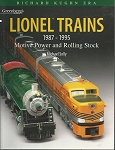 GREENBERG'S GUIDE TO LIONEL 1987-1995 MOTIVE POWER  H/C