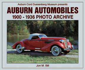 AUBURN AUTOMOBILES 1900-1936 PHOTO ARCHIVE