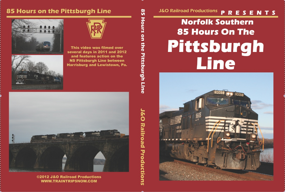 NORFOLK SOUTHERN 85 HOURS ON THE PITTSBURGH LINE