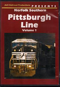 NORFOLK SOUTHERN PITTSBURGH LINE VOL 1