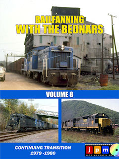 RAILFANNING WITH THE BEDNARS VOLUME 8 CONTINUING TRANSITION 1979-1980