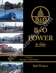 B&O POWER IN COLOR VOL 1 STEAM & CAB UNITS