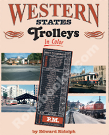 WESTERN STATES TROLLEYS IN COLOR