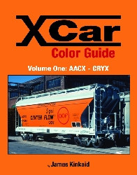 X CAR (PRIVATE OWNER) COLOR GUIDE VOL 1 AACX-CRYX