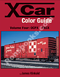 X CAR (PRIVATE OWNER) COLOR GUIDE VOL 4 OCPX-TKCX