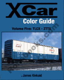 X CAR (PRIVATE OWNER) COLOR GUIDE VOL 5 TLCX-ZTTX