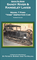 "SANDY RIVER & RANGELEY LAKES MODEL T FORD ""VOSE"" INSPECTION CAR"