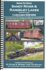 SANDY RIVER & RANGELEY LAKES CABOOSES 556-558