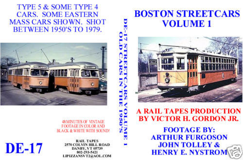 BOSTON STREETCARS VOL 1