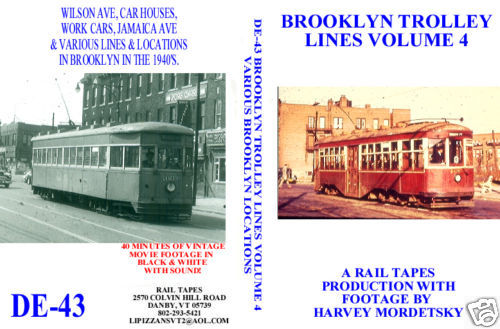 BROOKLYN TROLLEY LINES VOL 4