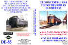ILLINOIS CENTRAL RR & THE SOUTH SHORE RR OLD MU CARS