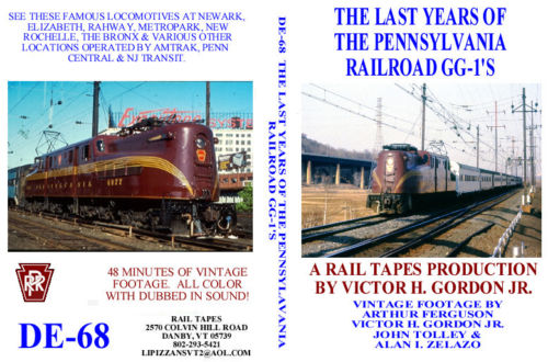 LAST YEARS OF THE PENNSYLVANIA RAILROAD GG-1'S