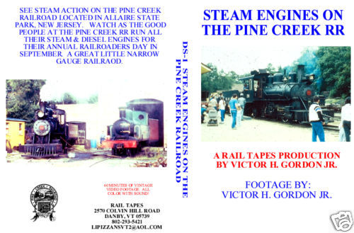 STEAM ENGINES ON THE PINE CREEK RR