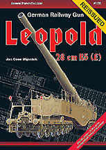 GERMAN RAILWAY GUN 28CM K5(E) LEOPOLD
