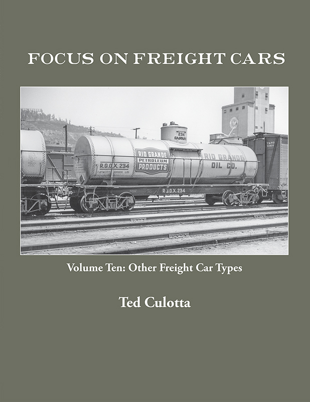 FOCUS ON FREIGHT CARS VOL 10 OTHER FREIGHT CAR TYPES