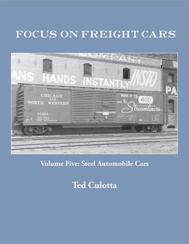 FOCUS ON FREIGHT CARS VOL 5 STEEL AUTOMOBILE CARS