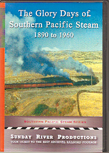 SOUTHERN PACIFIC STEAM 1890-1960
