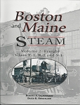 BOSTON & MAINE STEAM VOLUME 2 CLASS R1, S1 AND T1