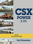CSX POWER IN COLOR VOL 4 SIX AXLE GE'S AND MORE