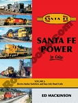 SANTA FE POWER IN COLOR VOL 3 ELECTRO-MOTIVE SWITCHERS & 4 AXLE HOOD UNITS