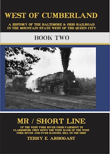 WEST OF CUMBERLAND B&O BOOK 2 MR/ SHORT LINE