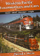 WESTERN PACIFIC LOCOMOTIVES & CARS VOL 2