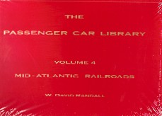 BUDD PASSENGER CARS VOL 4 PRR,RDG,C&O,B&O,N&W,RF&P