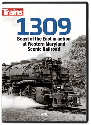 1309 BEAST OF THE EAST IN ACTION AT WESTERN MARYLAND SCENIC RAILROAD