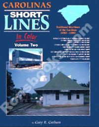CAROLINAS SHORT LINES IN COLOR VOL 2