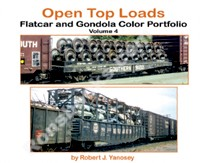 OPEN TOP LOADS FLATCAR AND GONDOLA COLOR PORTFOLIO VOL 4